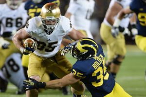 The end of the Notre Dame and Michigan rivalry: both teams need to find a new rival.