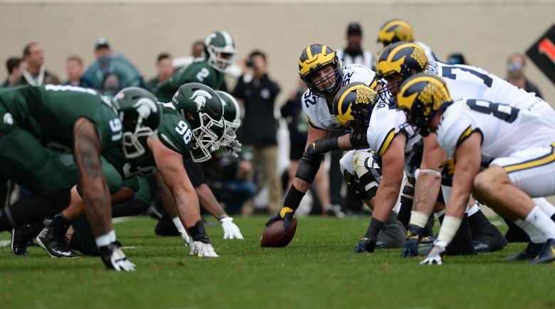 NCAA FOOTBALL: OCT 29 Michigan at Michigan State