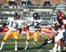 Lalo Gonzalez y el 'Pollo' Barragan, Final 1988